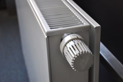 gas heating radiator