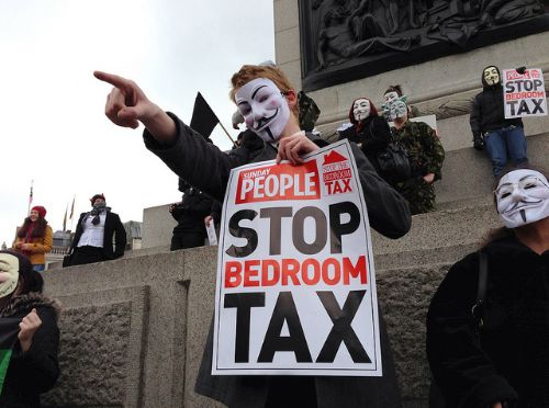 man wins bedroom tax challenge