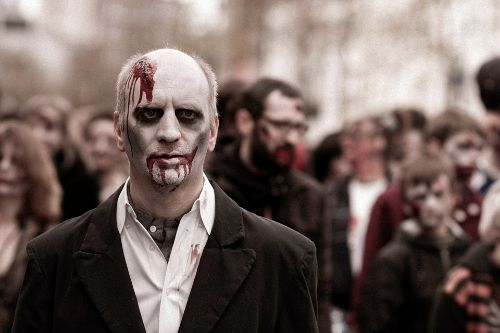 the zombie letting agent and other scary characters