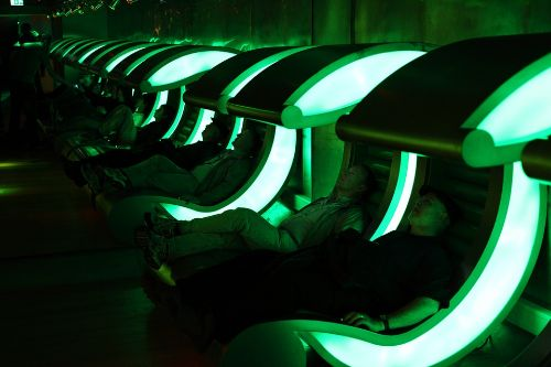 the rental property of the future features robots bio gel and smart baths
