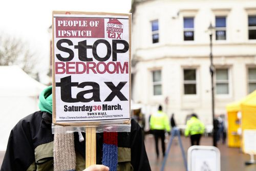 vigorous examination of bedroom tax after landslide vote